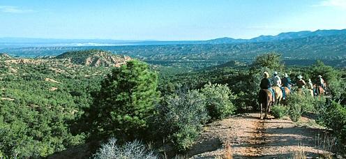 A View of Santa Fe